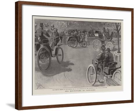 Two Exhibitions of Carriages-Alexander Stuart Boyd-Framed Art Print