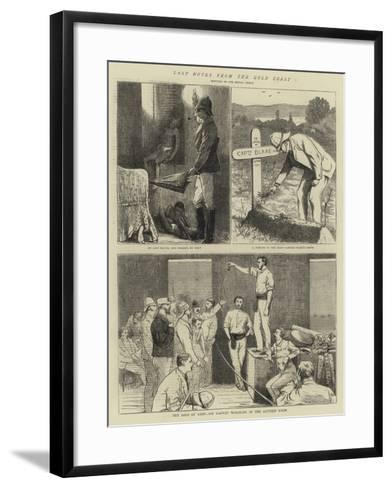 Last Notes from the Gold Coast-Alfred Chantrey Corbould-Framed Art Print