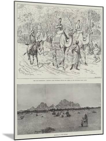 The Nile Expedition-Alfred Courbould-Mounted Giclee Print