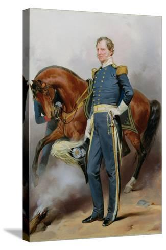 Winfield Scott (1786-1866), C.1850-Alonzo Chappel-Stretched Canvas Print