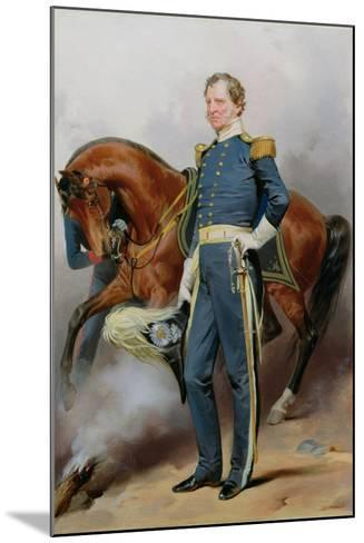 Winfield Scott (1786-1866), C.1850-Alonzo Chappel-Mounted Giclee Print
