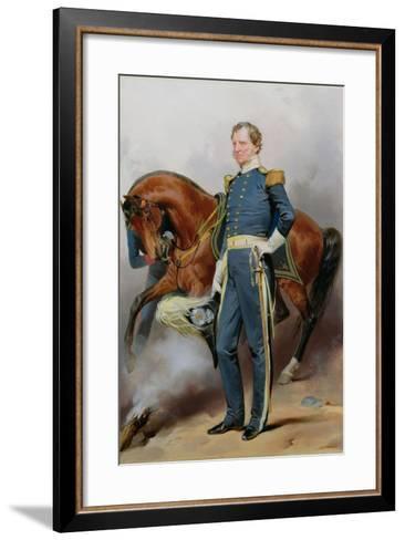 Winfield Scott (1786-1866), C.1850-Alonzo Chappel-Framed Art Print