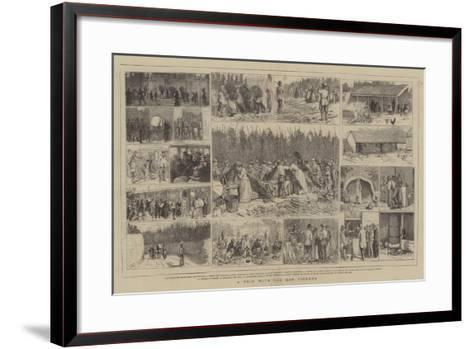 A Trip with the Hop Pickers-Alfred Chantrey Corbould-Framed Art Print