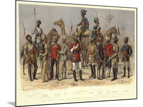 The Madras Army, and Troops under the Government of India-Alfred Crowdy Lovett-Mounted Giclee Print