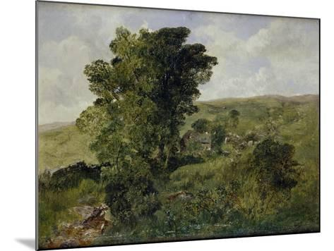 View of Nantlle, Caernarvonshire, 1855-Alfred William Hunt-Mounted Giclee Print