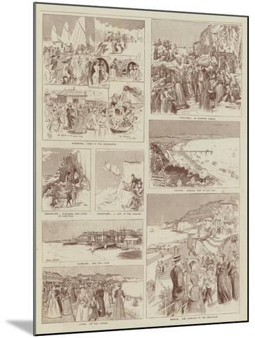 Summer Holidays-Alexander Stuart Boyd-Mounted Giclee Print