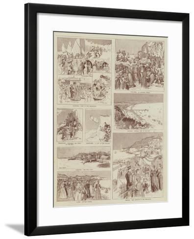 Summer Holidays-Alexander Stuart Boyd-Framed Art Print