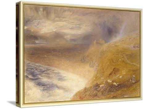 Harlech Castle, 1857-Alfred William Hunt-Stretched Canvas Print