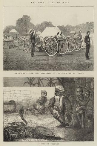 The Royal Visit to India-Alfred Chantrey Corbould-Stretched Canvas Print