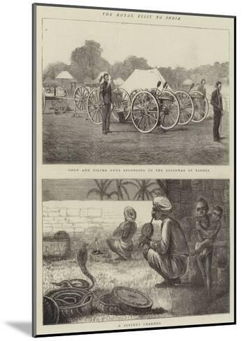 The Royal Visit to India-Alfred Chantrey Corbould-Mounted Giclee Print