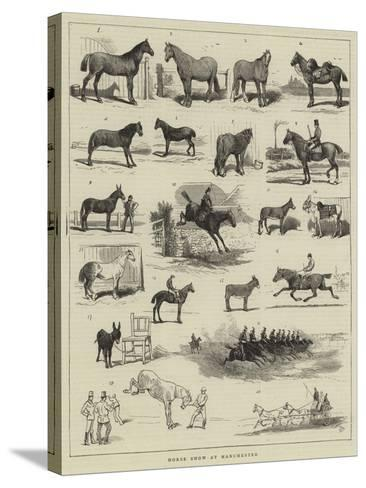 Horse Show at Manchester-Alfred Chantrey Corbould-Stretched Canvas Print