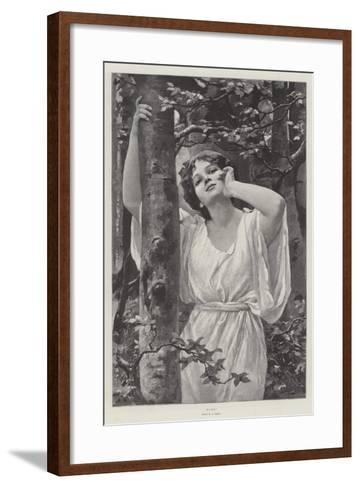 Echo-Alfred Seifert-Framed Art Print