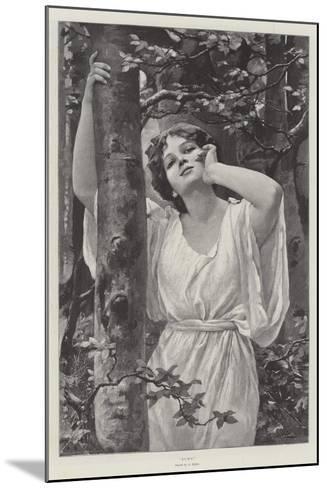 Echo-Alfred Seifert-Mounted Giclee Print