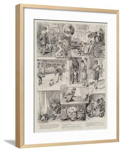 The Adventures of Jim-Alfred Chantrey Corbould-Framed Art Print