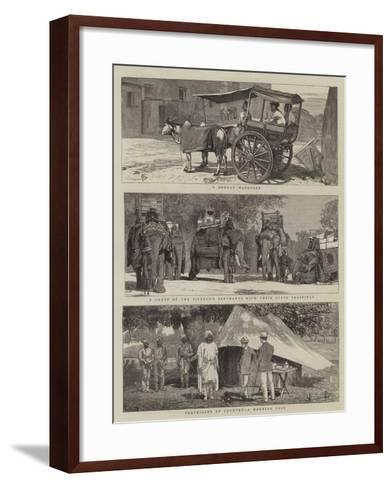 Views in India-Alfred Chantrey Corbould-Framed Art Print