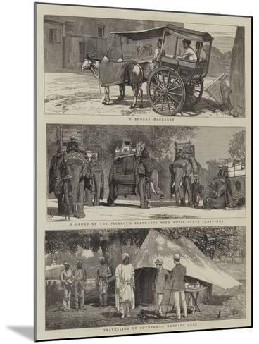Views in India-Alfred Chantrey Corbould-Mounted Giclee Print