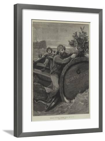 Christmas Decorations, Christmas Morning-Alfred Edward Emslie-Framed Art Print