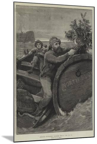 Christmas Decorations, Christmas Morning-Alfred Edward Emslie-Mounted Giclee Print