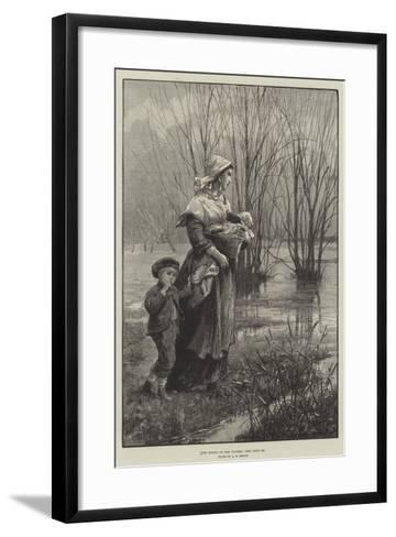 The Rising of the Waters-Alfred Edward Emslie-Framed Art Print
