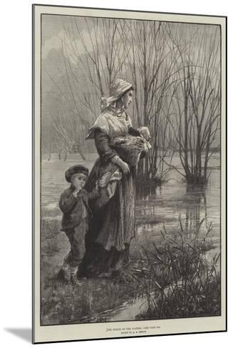 The Rising of the Waters-Alfred Edward Emslie-Mounted Giclee Print