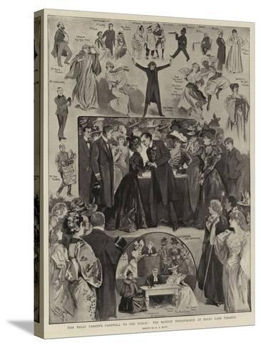 Miss Nelly Farren's Farewall to the Public, the Benefit Performance at Drury Lane Theatre-Alexander Stuart Boyd-Stretched Canvas Print