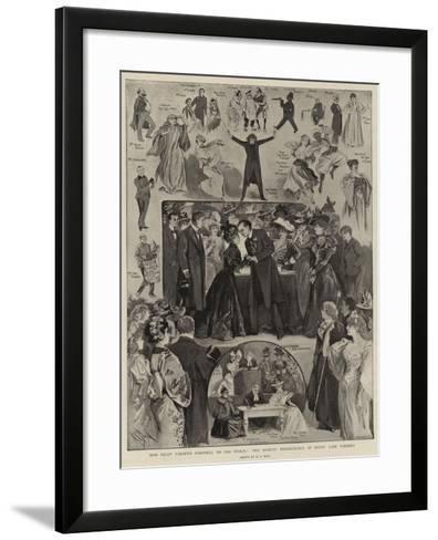 Miss Nelly Farren's Farewall to the Public, the Benefit Performance at Drury Lane Theatre-Alexander Stuart Boyd-Framed Art Print