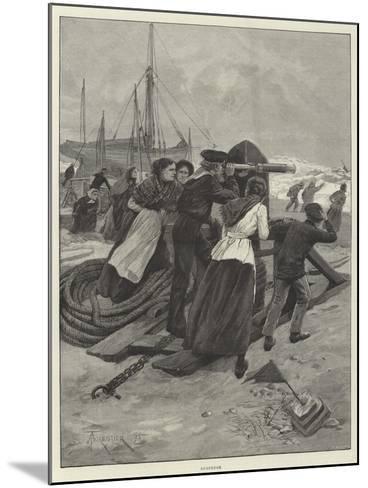 Suspense-Amedee Forestier-Mounted Giclee Print