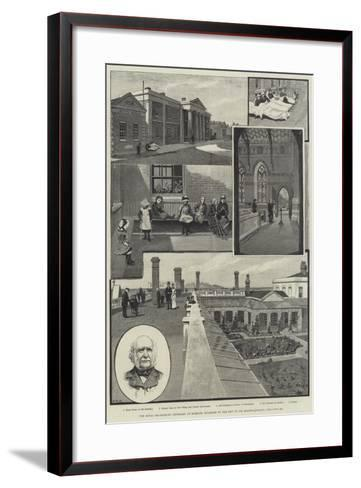 The Royal Sea-Bathing Infirmary at Margate, Enlarged by the Gift of Sir Erasmus Wilson-Amedee Forestier-Framed Art Print
