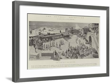 The Ashanti Expedition-Amedee Forestier-Framed Art Print