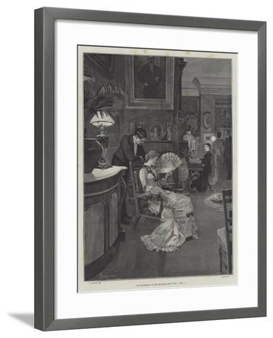 They Were Married-Amedee Forestier-Framed Art Print