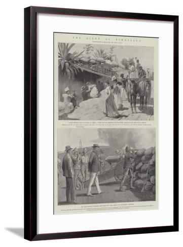 The Siege of Kimberley-Amedee Forestier-Framed Art Print