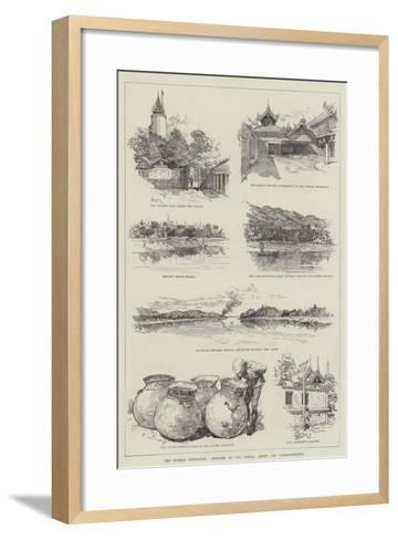The Burmah Expedition-Amedee Forestier-Framed Art Print