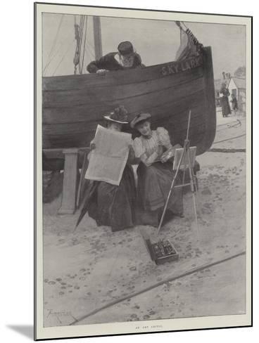 An Art Critic-Amedee Forestier-Mounted Giclee Print