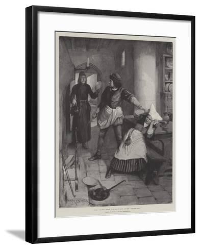 Simon of York-Amedee Forestier-Framed Art Print