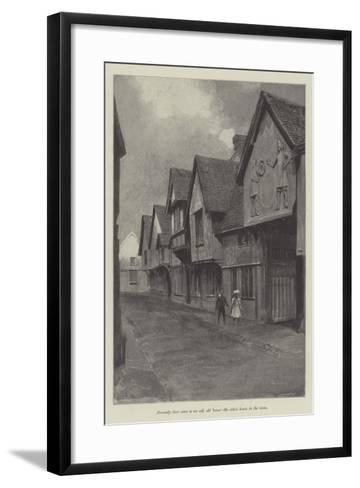 The Five Years' Tryst-Amedee Forestier-Framed Art Print