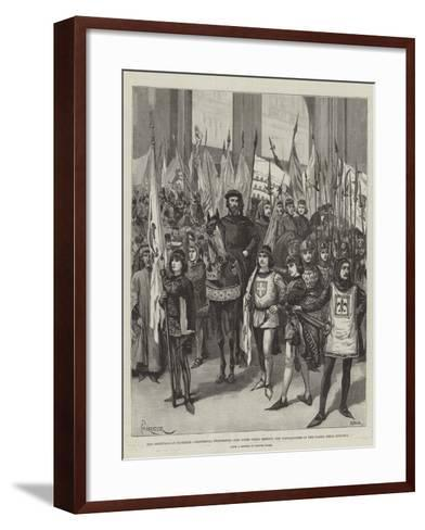 The Festivals at Florence-Amedee Forestier-Framed Art Print