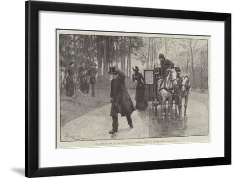Blind Love-Amedee Forestier-Framed Art Print
