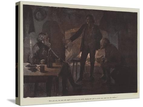 Uncle Jim and Uncle Billy-Amedee Forestier-Stretched Canvas Print