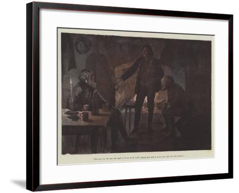 Uncle Jim and Uncle Billy-Amedee Forestier-Framed Art Print