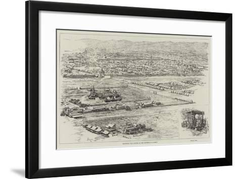 Mandalay, the Capital of the Kingdom of Burmah-Amedee Forestier-Framed Art Print