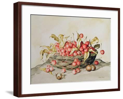 Basket of Cherries, 1998-Amelia Kleiser-Framed Art Print