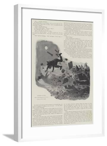 The Man Who Could Work Miracles, by H G Wells-Amedee Forestier-Framed Art Print