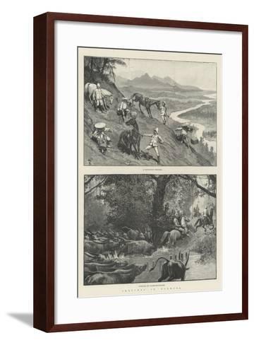 Sketches in Formosa-Amedee Forestier-Framed Art Print