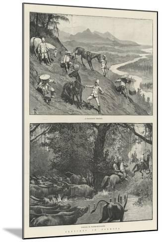 Sketches in Formosa-Amedee Forestier-Mounted Giclee Print