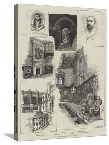 The City Guilds, Merchant Taylors' Company-Amedee Forestier-Stretched Canvas Print