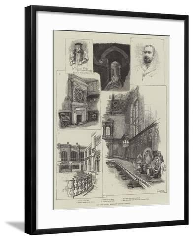The City Guilds, Merchant Taylors' Company-Amedee Forestier-Framed Art Print