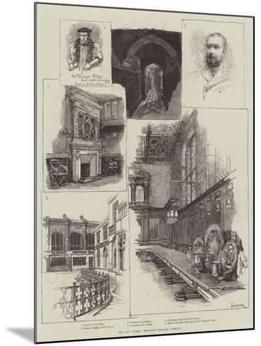 The City Guilds, Merchant Taylors' Company-Amedee Forestier-Mounted Giclee Print