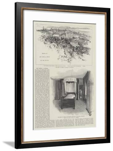 The Queen at Hyeres-Amedee Forestier-Framed Art Print