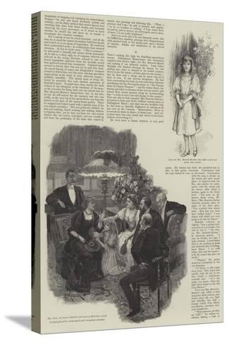 Pallinghurst Barrow-Amedee Forestier-Stretched Canvas Print