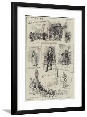 Hamlet at the Princess's Theatre-Amedee Forestier-Framed Art Print